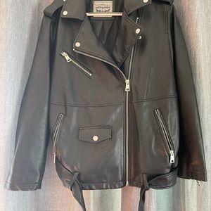 Levi Strauss Plus Size Faux Leather Jacket 2X